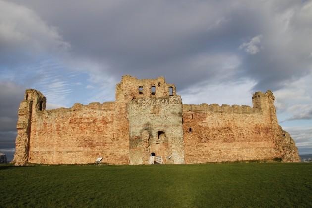 Vorhof zu Tantallon Castle