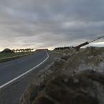 Straße bei North Berwick