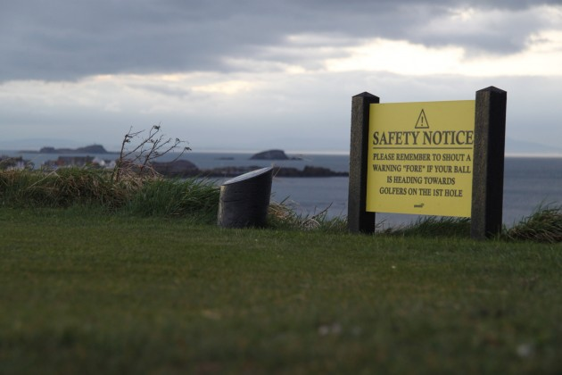 Golfplatz von North Berwick