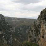 Vikos-Schlucht östlich von Monodendri