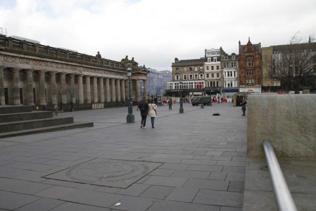 Royal Scottish Academy in Edinburgh