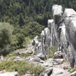 Sami Akropolis, Mykenische Mauern