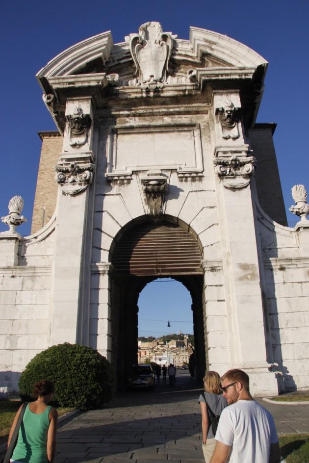 Porta Pia in Ancona