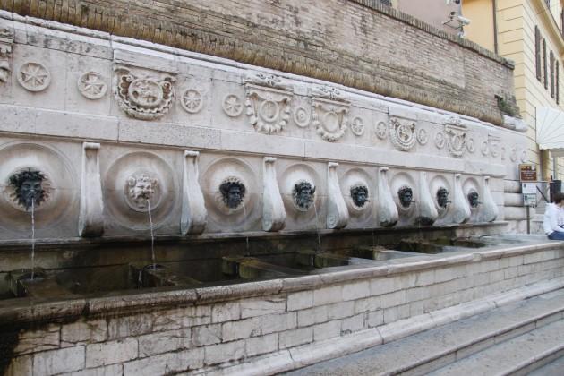 Fontana del Calamo in Ancona