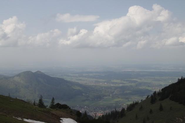 Steinlingalm, Blick nach Nordosten