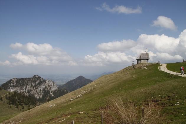 Kapelle auf der Steinlingalm