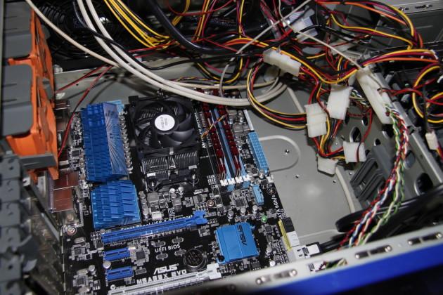ASUS M5A99X EVO Mainboard mit AMD Phenom II X6 1045T und 8GB DDR3 2133MHz RAM