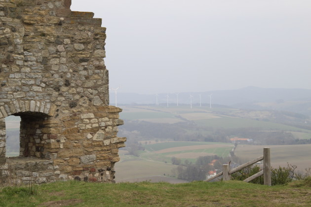 Innenhof der Burg Desenberg