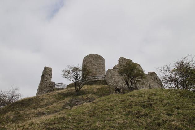 Burg Desenberg von Norden