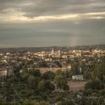 Dresden nach Juliregen